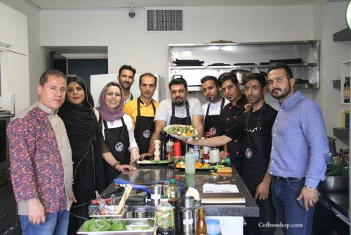 گزارش تصویری روز اول دوره تخصصی آموزش طبخ غذاهای باربیکیو