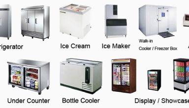 انواع یخچال ، فریزر و لوازم سرما ساز
