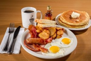 ۲ صبحانه انگلیسی