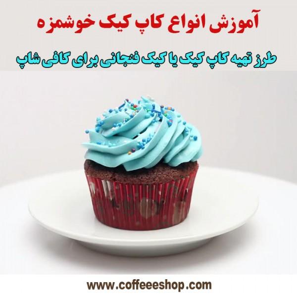 کاپ کیک چیست ؟ آموزش انواع کاپ کیک خوشمزه !