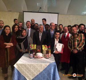 پایان دومین دوره تخصصی آموزش باریستا در ایران