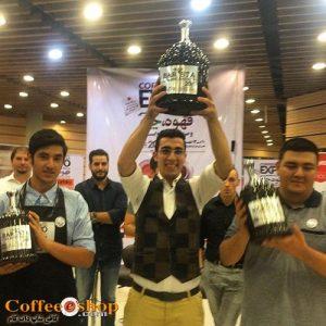 حمیدرضا بصیری برنده فینال مسابقات باریستا ایران شد.