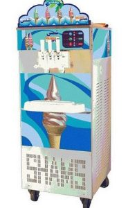 تجهیزات کافی شاپ | دستگاه بستنی ساز دیجیتالی سه فاز نیکنام ( پمپی و پارو استیل )