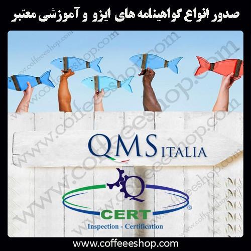 گواهینامه های ایزو و انواع گواهینامه های آموزشی معتبر کیو ام اس ایتالیا - QMS ITALIA