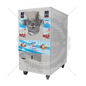 تجهیزات کافی شاپ | دستگاه بستنی ساز تک قیفه شمس | مدل مینی سناتور