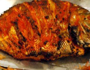 ماهی کباب بندری