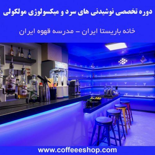 دوره تخصصی نوشیدنی های سرد و میکسولوژی مولکولی توسط خانه باریستا ایران