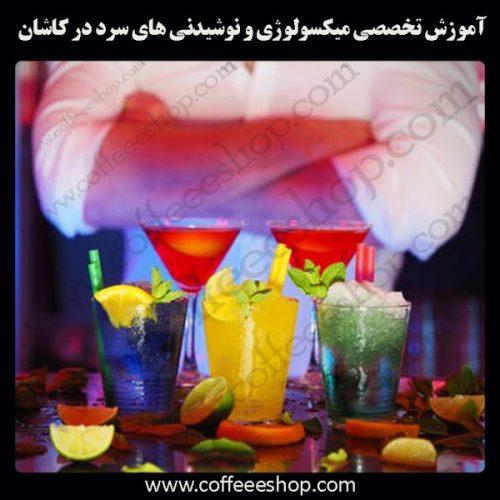 شهر کاشان –آموزش تخصصی میکسولوژی و نوشیدنی های سرد در شهرکاشان با مجوز فنی حرفه ای و پنج مدرک بین المللی