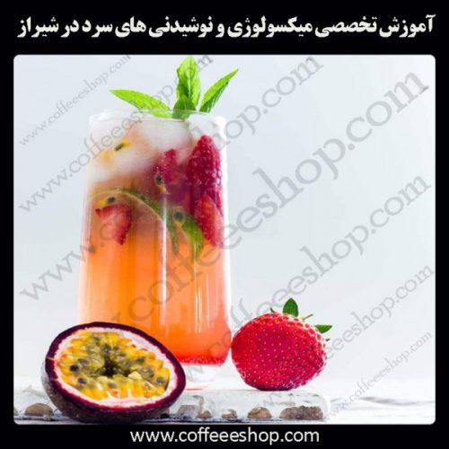 شهر شیراز – آموزش تخصصی میکسولوژی و نوشیدنی های سرد درشهر شیراز با مجوز فنی حرفه ای و پنج مدرک بین المللی