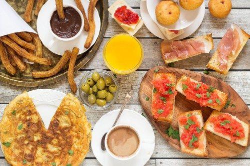 صبحانه اسپانیایی