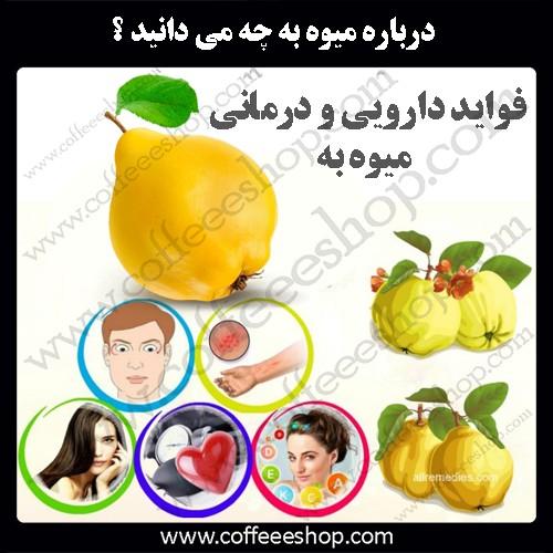 فواید دارویی و درمانی میوه به