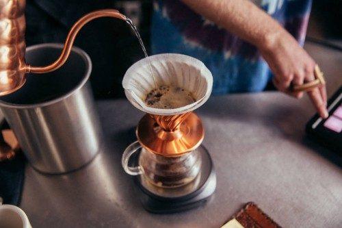 قهوه وکتور 60 (v60)