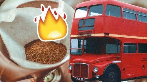 اتوبوس های قهوه سوز