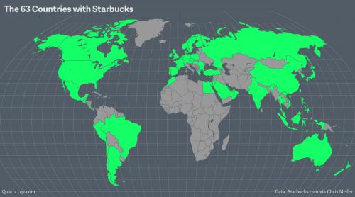 استارباکس و محبوبیت جهانی