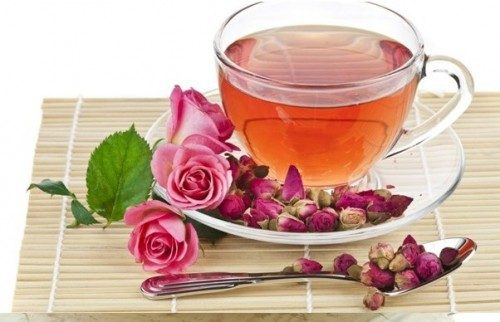 چای گیاهی ریلکس کننده گل رز