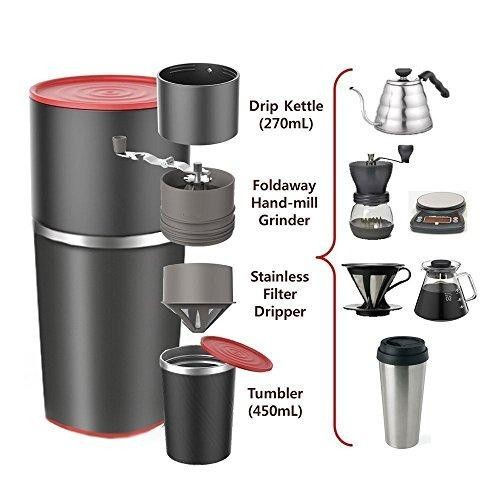 Cafflano Klassic | دستگاه قهوه ساز مسافرتی برای گردشگران و جهان گردان | قهوه ساز همراه
