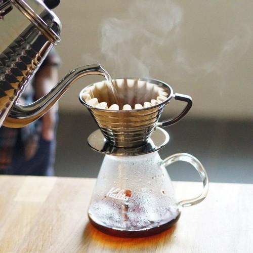 Kalita Wave Pour Over Dripper | دستگاه قهوه ساز مسافرتی برای گردشگران و جهان گردان | قهوه ساز همراه