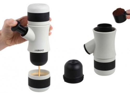 Nomad coffee | دستگاه قهوه ساز مسافرتی برای گردشگران و جهان گردان | قهوه ساز همراه