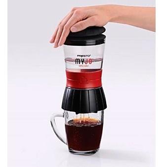 Presto coffee maker | دستگاه قهوه ساز مسافرتی برای گردشگران و جهان گردان | قهوه ساز همراه