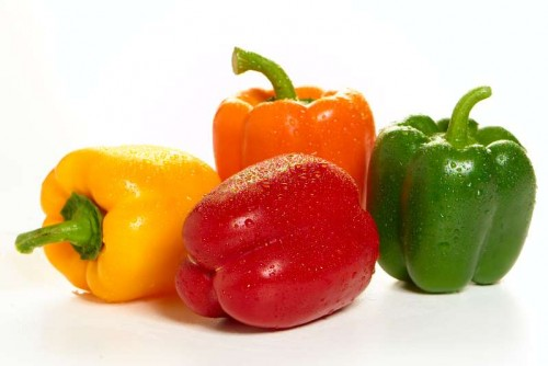 آشنایی با خواص انواع فلفل های رنگی | Bell Pepper