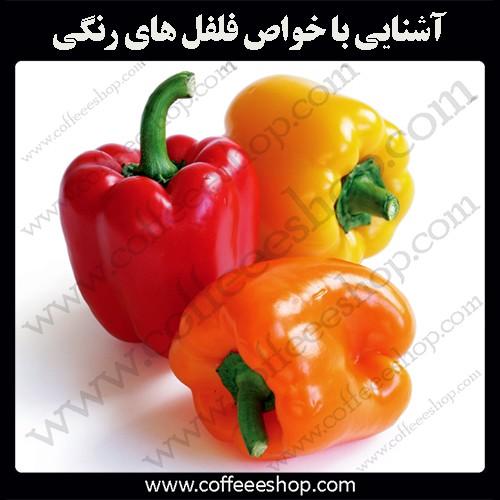 فلفل رنگی چیست؟ | آشنایی با خواص فلفل های رنگی - Bell Pepper
