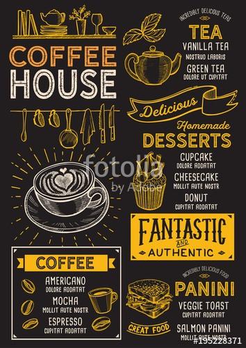 منوی قهوه ی خود را اصلاح کنید.
