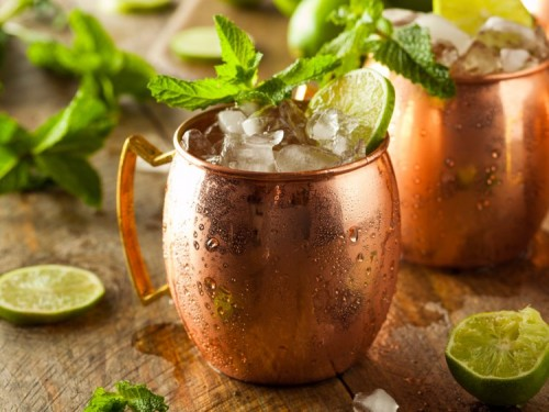 Moscow mule Cocktail - كوكتل مُسكو مول
